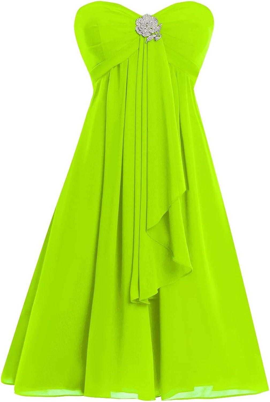 JudyBridal Women Sweetheart Kneelength Bridesmaid Dresses