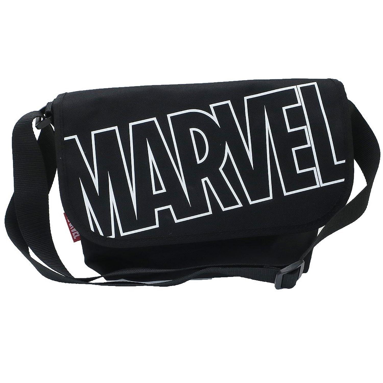 MARVEL[ショルダーバッグ]メッセンジャーバッグ/ビッグロゴ マーベル