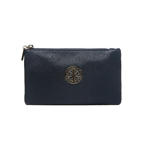 Navy Clutch Bags: Amazon.co.uk