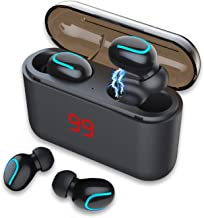 Wireless Earbuds Bluetooth Headphones – Touch Control V5.0 Earpieces Wireless Mini..