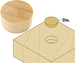Platte River 110005, 500-pack, Wood Specialties, Buttons & Plugs, 3/8