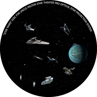 Star Wars disc for Uncle Milton Star Theater Pro/Nashika NA-300 Home Planetarium