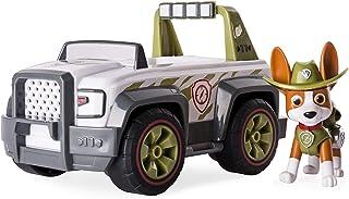 Nickelodeon Paw Patrol – hjälpare på fyra tassar, Tracker's Jungle Cruiser, fordon och figur
