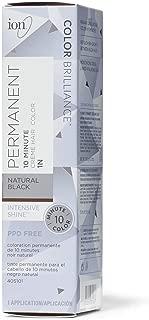Ion 1N Natural Black Permanent Creme Hair Color 1N Natural Black