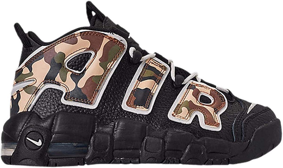 Nike Air More Uptempo QS GS CAMO CJ0930-001 Size