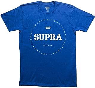 Supra Mens Triblock Short-Sleeve Shirts