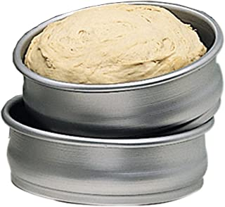 American Metalcraft DRPE878 Deluxe Anodized Aluminum Dough Pan, Eastern, 8-7/8