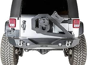 Havoc Offroad GEN 2 Aftershock 2007-2018 Jeep JK Wrangler Mid Width Rear Bumper w/Hinged Tire Carrier