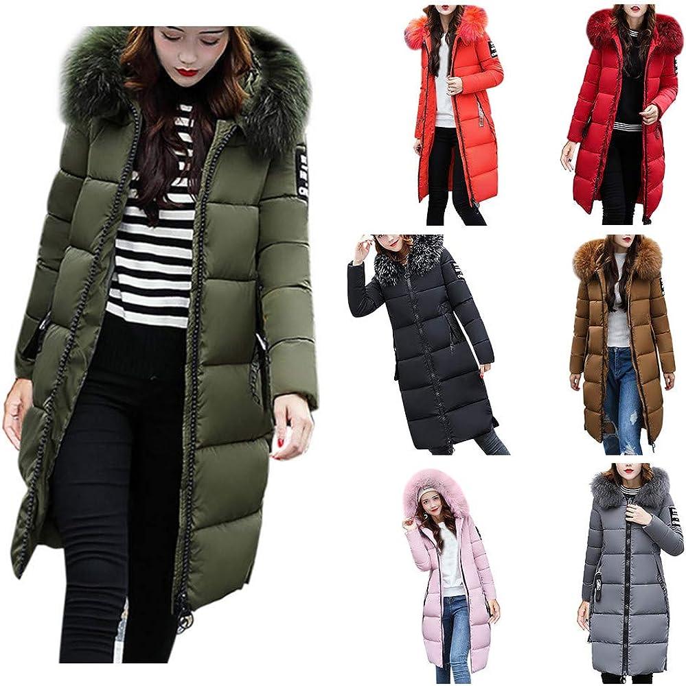 再入荷/予約販売! Women's Warm 2020モデル Winter Coat Women Long Coats Hooded Parka Down Cas