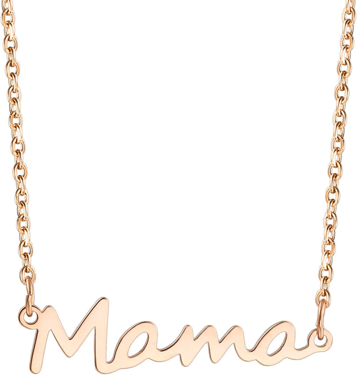 TTLouis Mother's Day Ranking TOP8 Theme Mama Philadelphia Mall English Pendant Letter Necklace