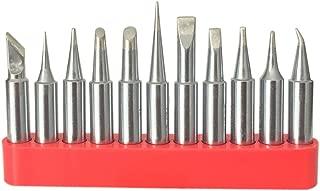 Best Replacement HAKKO T18 Soldering Tip for HAKKO FX-888D FX-888 FX-8801 (11 pcs with tip Holder)