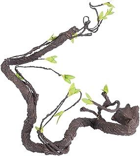 Przyjazny dla środowiska wystrój terrarium, nietoksyczny Twist Tough sztuczne pnącze, pnącze winorośli, dla zwierząt domow...