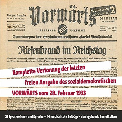 Vorwärts: Riesenbrand im Reichstag Titelbild