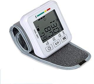 KIPQ Superior del Brazo Monitor de presión Arterial, máquina de presión Arterial, Digital Automático medirse la tensión Arterial y el Pulso del Ritmo cardíaco para Uso en el hogar, 2 Usuarios Modo