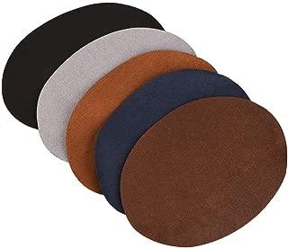 Prym patch velour cuir synthétique à repasser 10x14 CM NOIR 1 paire 929370