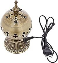 Buycrafty Divine Electric Bakhoor Burner Electric Incense Burner - Oud Resin Frankincense for Diwali Gift Positive Energy IB-24