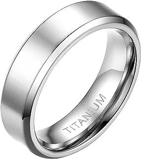 مابوهيتي خواتم الزفاف للرجال النساء عالية مصقول الفضة لهجة التيتانيوم الدائري 4 مم 6 مم 8 مم 10 مم خواتم الزفاف