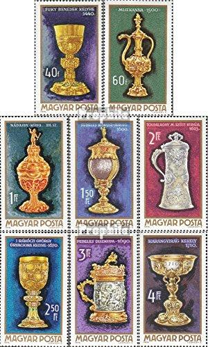 Prophila Collection Ungarn 2625A-2632A (kompl.Ausg.) 1970 Goldschmiedekunst (Briefmarken für Sammler) Kultur