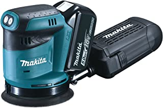 """Makita DBO180RTJ 18V Li-ion LXT 5"""" Random Orbit Sander Complete with 2 x 5.0 Ah Batteries and Charger Supplied in a Makpac..."""