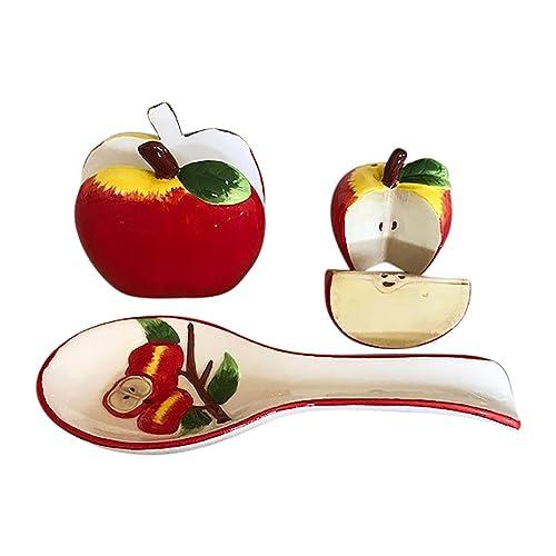 Kitchen Apples Decorations Amazoncom