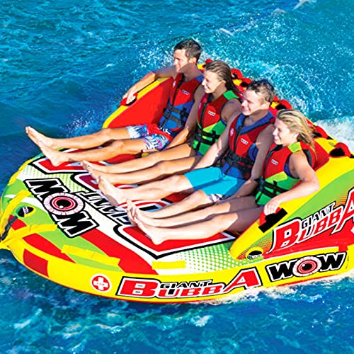 Spring Float,Water Inflatable Sofa, Outdoor Water Inflatable Drag Ring, 2-3 Person Towable for Boating,Pool or Lake,