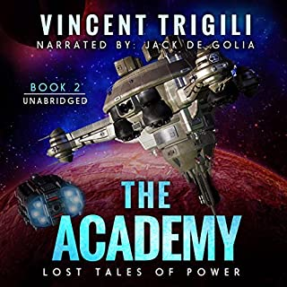 The Academy audiobook cover art