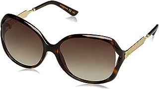 Gucci Women's GG0076S Fashion Sunglasses 60mm