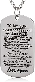 to my amazing daughter necklace