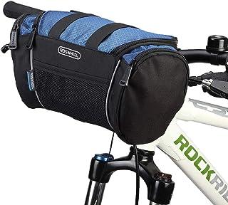 Lixada Bolsa para Manillar de Bicicleta Tubo Frontal Bolsa Térmica Bolsa de Hombro para MTB Bicicleta de Carretera