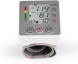 BABIFIS Alemania Chip Muñeca Automática Monitor de Presión Arterial Digital OLI-003R Tonómetro Pulso Frecuencia Cardíaca Medidor Pantalla LCD Silver