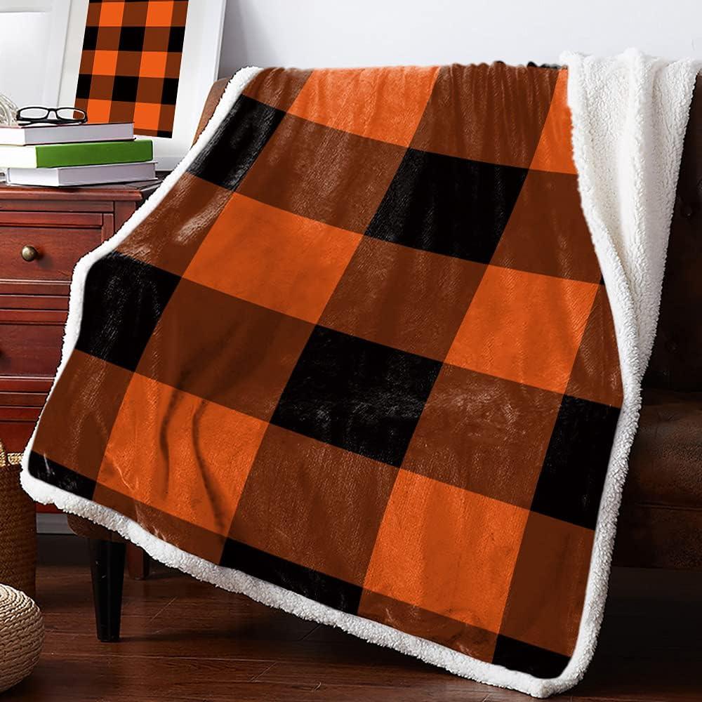 Sherpa Fleece Throw Blanket 39 x Buffalo Rapid rise Plaid Check Inches 49 P 25% OFF