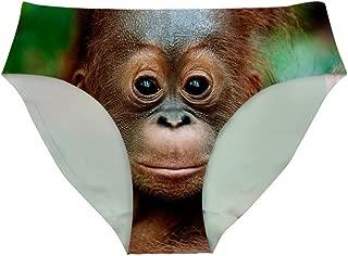 HUGS IDEA 3D Animal Print Underwear Sexy Panties for Ladies