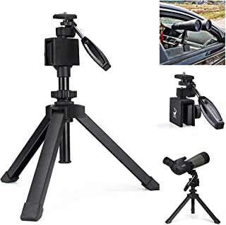 Gosky Heavy Duty Adjustable Table Top Tripod with Car Window Mount for Scope Scope Binocular Telescope DSLR Cameras and Other Device