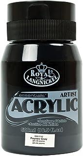 Royal & Langnickel RAA-5142 Essentials 500ml Acrylic Paint - Paynes Grey