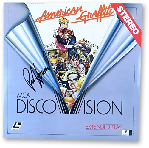 Ron Howard Signed Autographed Laserdisc Cover American Graffiti JSA U16582