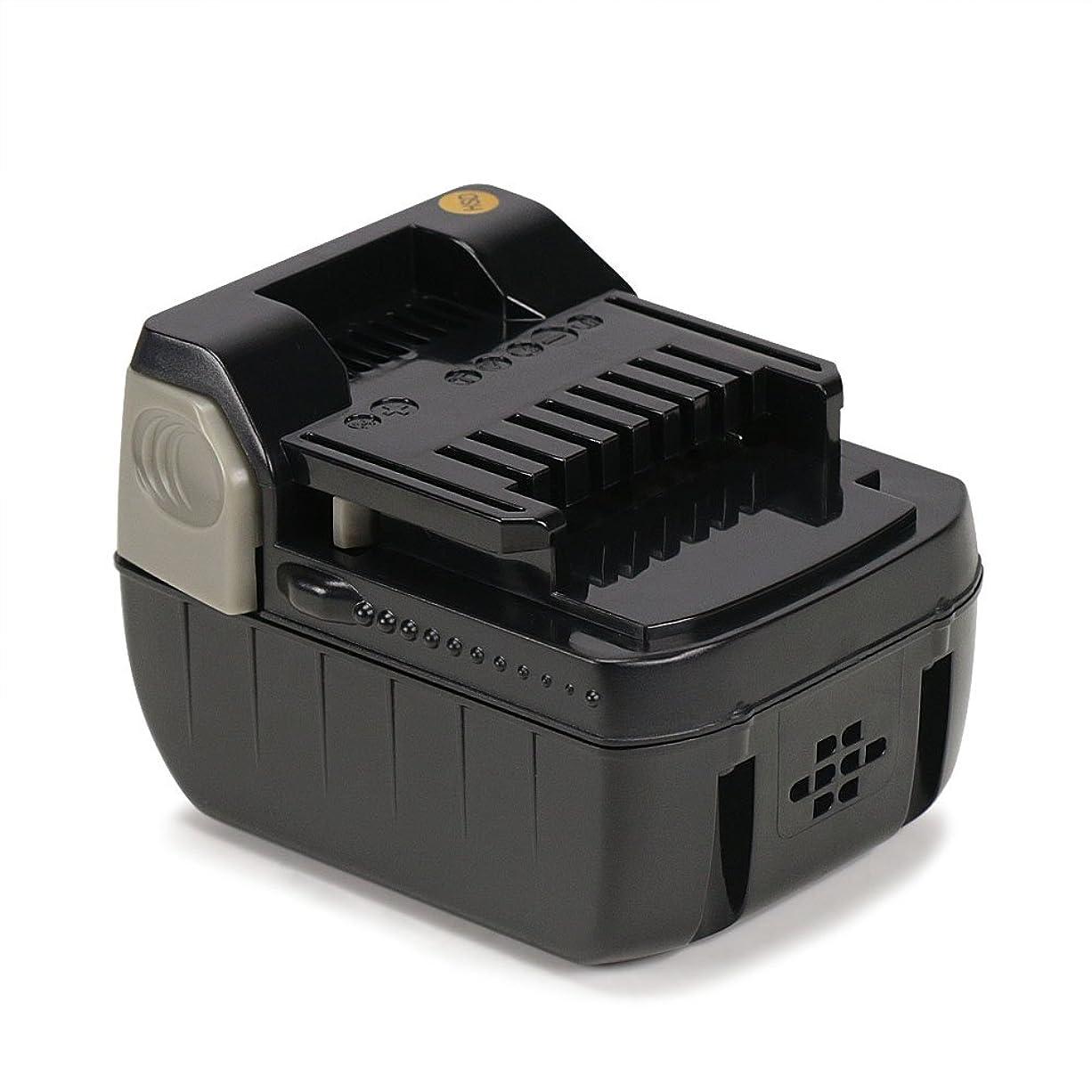 テロ囲い議題REEXBON 日立 14.4V バッテリー bsl1430 互換バッテリー 大容量 4000mAh リチウムイオン電池 bsl1415 bsl1440 bsl1450 bsl1460 互換 インパクト日立 14.4v 1年保証