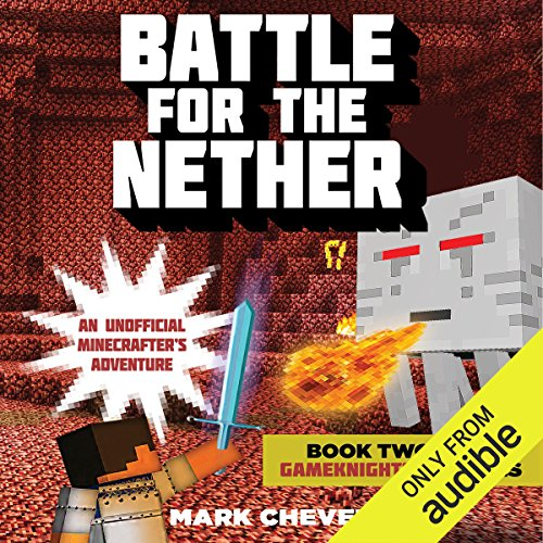 Battle for the Nether audiobook cover art