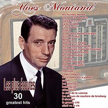 30 Greatest hits (les plus écoutés)