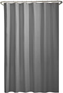 MAYTEX Water Repellent Fabric Shower Curtain Or Liner 70 X 72 Grey