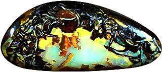11.16 ct AIG CERTIFICADO FANCY CUT (25 x 11 mm) Ópalo multicolor de Koroit AUSTRALIAN BOULDER NATURAL PÓpalo