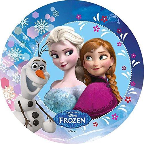 Fondant Tortenaufleger Tortenbild Geburtstag Frozen Die Eiskönigin T42