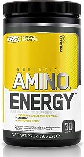 Optimum Nutrition ON Amino Energy Pre Workout en Polvo, Bebida Energética con Beta..