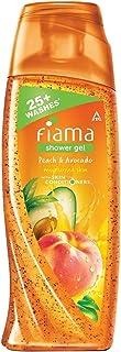 Fiama Shower Gel Peach & Avocado, Body Wash with Skin Conditioners for Soft Moisturised Skin, 100 ml bottle