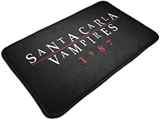 HUTTGIGH Santa Carla Vampires 1987 Lost Boys - Felpudo antideslizante para puerta de entrada, alfombra de baño, alfombra d...