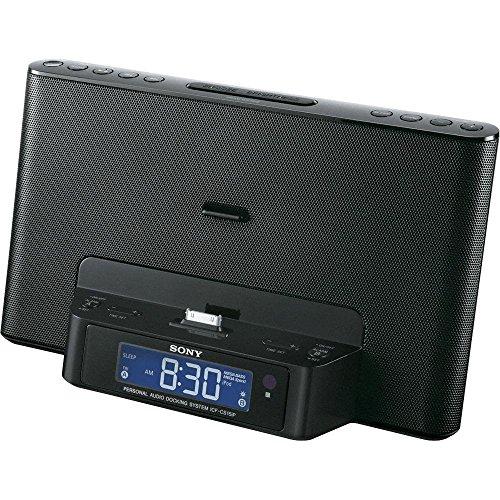 Sony ICFCS15IP Speaker Dock for iPhone/iPod  Black Renewed