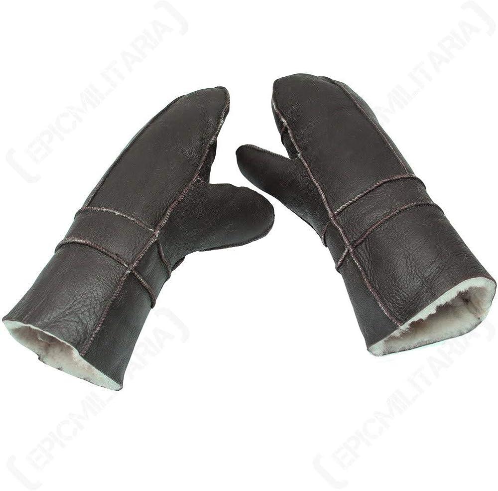 Mil-Tec USAF B3 Pilot Leather Mittens