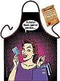 Hausfrauen Kochschürze Motiv Shopping Queen Schürze : Schatz! Kann später Werden … -...