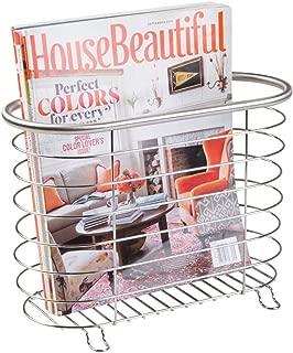 stainless steel magazine rack