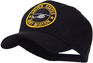 Army Circular Shape Embroidered Military Patch Cap