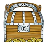 Rhode Island Novelty 6.25 Inch Treasure Chest Treat Boxes